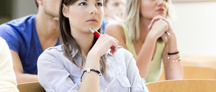 девочка студентка