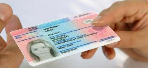 временное удостоверение в Польше, карты побыту