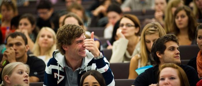 веселый польский студент