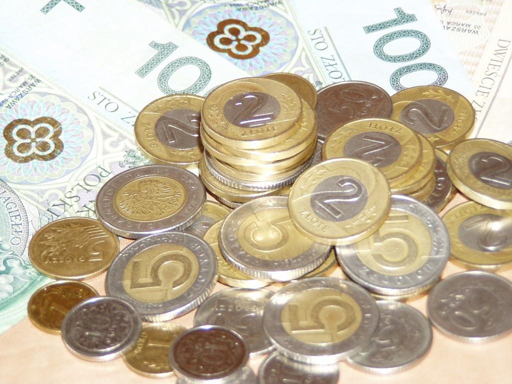 польские деньги, злотые